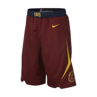 Cleveland Cavaliers Nike Icon Edition Swingman- NBA-shorts til store børn (drenge) - Rød