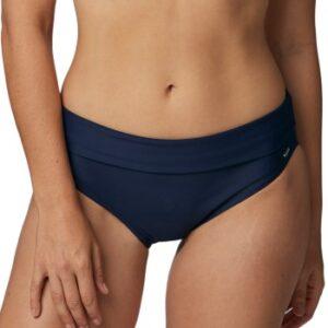 Abecita Capri Folded Bikini Brief Marineblå 36 Dame