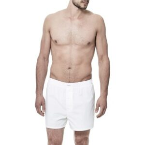 Bread and Boxers Boxer Short Hvid bomuld Large Herre