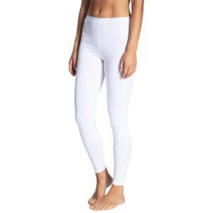 Calida Natural Comfort Leggings Hvid bomuld Large Dame