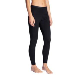 Calida Natural Comfort Leggings Sort bomuld Large Dame