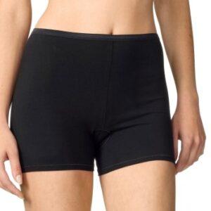 Calida Trusser Comfort Pants Short leg 25024 Sort 992 bomuld Small Dame