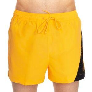 Calvin Klein Badebukser Blocking Short Drawstring Orange polyester Large Herre