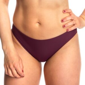 Calvin Klein Core Solid Classic Bikini Brief Vinrød Large Dame