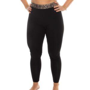 Calvin Klein Icon Leggings Sort bomuld Large Dame