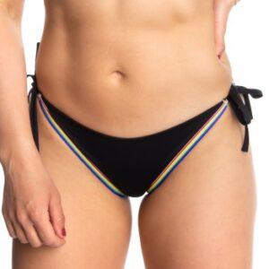 Calvin Klein Pride String Side Tie Bikini Sort Large Dame