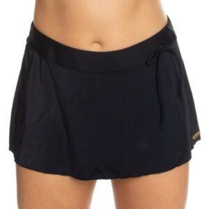 Damella Jessica Basic Skirt Sort 36 Dame