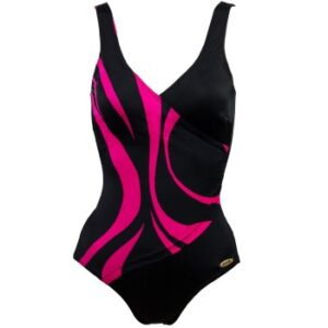 Damella Julia Basic Swimsuit Cerise 36 Dame