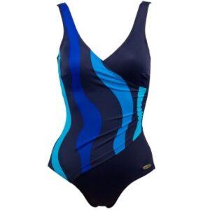 Damella Julia Basic Swimsuit Kongeblå 36 Dame