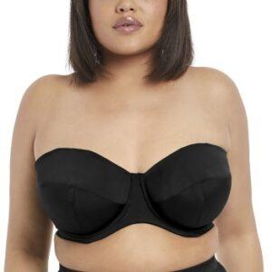 Elomi Swim Essentials Bandeau Bikini Top Sort E 100 Dame