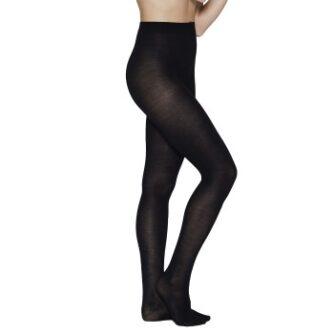 JBS of Denmark Strømpebukser Wool Pantyhose Tights Sort M/L Dame