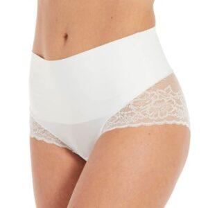 Magic Trusser Tummy Shaper Lace Hvid Large Dame