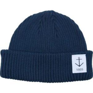 Resteröds Smula Hat Marineblå økologisk bomuld One Size