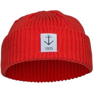 Resteröds Smula Hat Rød økologisk bomuld One Size