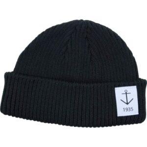 Resteröds Smula Hat Sort økologisk bomuld One Size