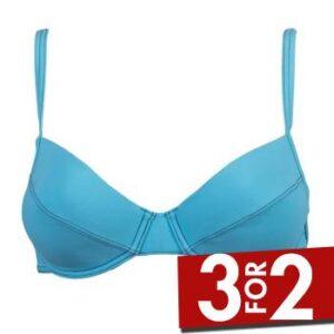 Sloggi Ibiza Push Up Bikini Turkise B 40 Dame