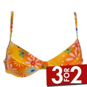 Sloggi Tonga Bøjle Bikini Orange mønster B 46 Dame