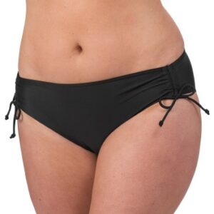 Trofe Mix Bikini Briefs With Lacing Sort 38 Dame