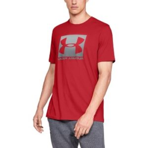 Under Armour Boxed Sportstyle Short Sleeve T-shirt Rød Large Herre