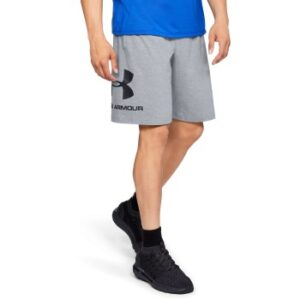 Under Armour Sportstyle Cotton Graphic Shorts Grå Large Herre
