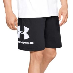 Under Armour Sportstyle Cotton Graphic Shorts Sort Large Herre
