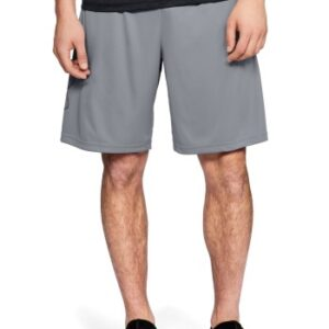 Under Armour Tech Graphic Shorts Lysegrå polyester Large Herre