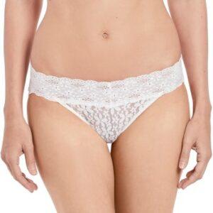 Wacoal Trusser Halo Lace Bikini Benhvid nylon Large Dame