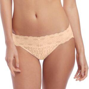 Wacoal Trusser Halo Lace Bikini Hud nylon Large Dame
