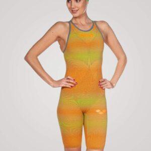 Arena Carbon Air 2 dragt - Orange/gul