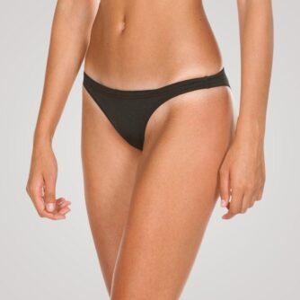 Arena Free Brief bikini bund - Sort/gul