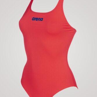 Arena Solid Swim Pro til damer - Lyserød