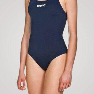 Arena Solid Swim Pro til damer - Mørkeblå