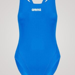 Arena Solid Swim Tech High - Lyseblå