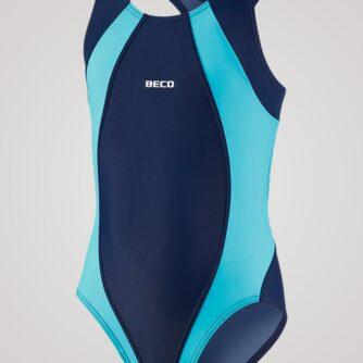 Beco Maxpower badedragt til piger - Mørkeblå/lyseblå