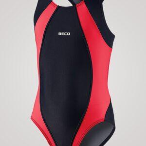 Beco Maxpower badedragt til piger - Rød/sort