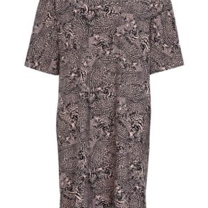 Cellbes Dyremønstret kjoletunika Gammelrosa Mønstret