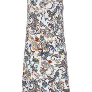 Cellbes Mønstret kjole Hvid Paisley