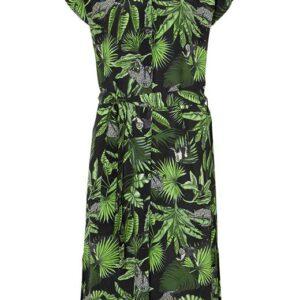 Cellbes Mønstret kjole i crêpe Mønstret