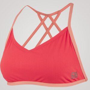 Speedo Neon Freestyle Bikini Top - Lyserød