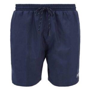 BOSS Starfish Swim Shorts Badebukser Mørkblå polyester Large Herre
