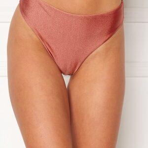 BUBBLEROOM Selina high waist bikini bottom Dark pink L