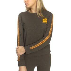 Calvin Klein 1981 Bold Sweatshirt Grøn Small Dame