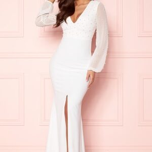 Chiara Forthi Felicienne pearl gown White 36
