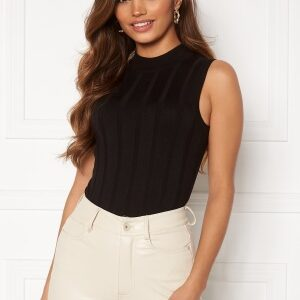Happy Holly AnaBelle knitted sleeveless top Black 32/34