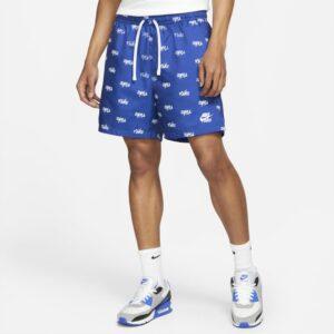 Vævede Nike Sportswear Club Flow-shorts til mænd - Blå