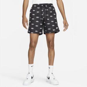 Vævede Nike Sportswear Club Flow-shorts til mænd - Sort