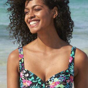 Bikini-bh uden bøjle Tropisk