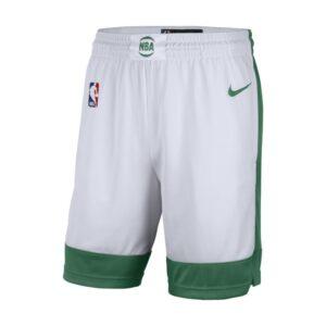 Boston Celtics City Edition 2020 Nike NBA Swingman-shorts til mænd - Hvid