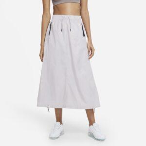 Vævet Nike Sportswear Tech Pack-nederdel til kvinder - Lilla